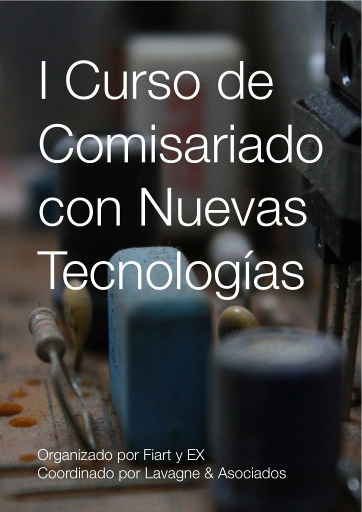 I Curso Comisariado con NUevas Tecnologías
