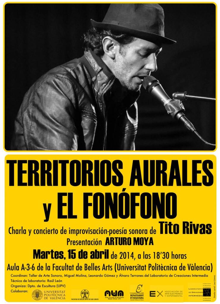 Tito Rivas en la Facultad de Bellas Artes de Valencia